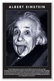 Einstein Quotes Simple Amazon Albert Einstein Tongue Quote Art Print Poster 48x48