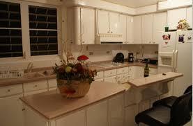 Galley Kitchen With Breakfast Bar