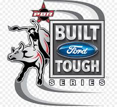 built ford tough logo png.  Png Built Ford Tough Series Professional Bull Riders Riding Rodeo Logo   PBR Riding Throughout Png