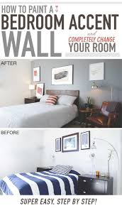 Amazing Paint A Bedroom Wall Trends With Fabulous Ideas Floor Bathroom Walls