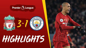 Brilliant pitchside highlights as liverpool thrash leicester on boxing day. Liverpool 3 1 Man City Fabinho S Stunner Helps Reds Beat City Highlights Youtube