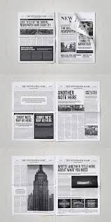 Creative Newspaper Template 30 Professional Indesign Newspaper Templates Sparks