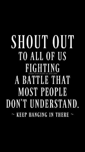 Chronic Pain Quotes Shout out to all of the grave chronic painillness warriors out 4