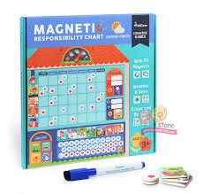 Mideer Wooden Magnetic Reward Activity Responsibility Chart Calendar Kids Schedule Educational Toys For Children Target Board