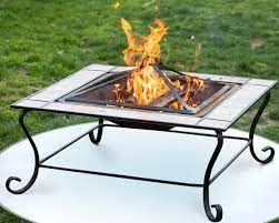 Fire Pit Mat For Deck And Patio Under Grill Mat 36 Inch Grillbee