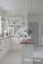 white cottage kitchens. Farmhouse Friday ~ Fröken Knopp | Sweet Southern Blue White Cottage Kitchens