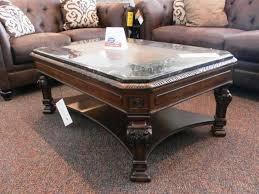 image of elegant ashley furniture coffee table