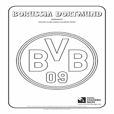 Cool Coloring Pages Borussia Dortmund Logo Coloring Page Auto