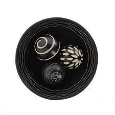 Decorator Balls Fascinating Amazon Decor Ball Set Decorative Bowl Of Balls Mdf Wood 32