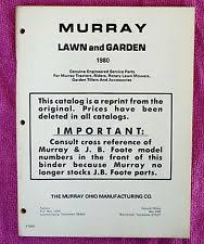 murray outdoor power equipment manuals guides 1980 murray lawn garden parts service repair manual lawn mower multiple