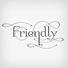 Image result for friendly