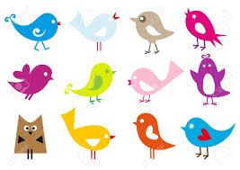 cute bird silhouette vector. Brilliant Vector 7081546setofcutevectorbirdsbirdsilhouetteowljpg 1300919 Intended Cute Bird Silhouette Vector U
