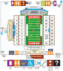 University Of New Mexico Football Stadium Seating Chart New Mexico Football Fan Guide Albuquerque Journal