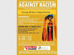 youth encouraged to enter essay competition against racism  youth encouraged to enter essay competition against racism