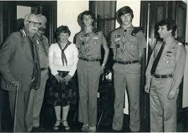 Scouts : Roche, Black, Hardaker, Wesley, Garrett and Hardaker - Cockburn  History