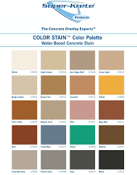 Seal Krete Epoxy Color Chart Super Krete Chart Copy 2 650x960 Concrete Texturing