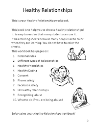Healthy Relationships Worksheet Free Worksheets Library | Download ...