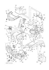 yamaha grizzly parts diagram yamaha image wiring 2013 yamaha grizzly 700 4wd yfm7fgdgr front fender parts best on yamaha grizzly parts diagram