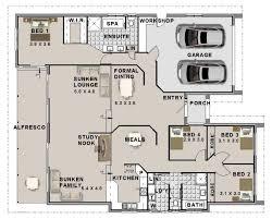 4 bed split level 4 bedroom house