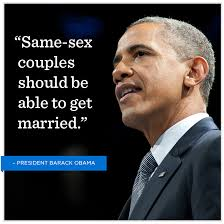 Opping quote for gay marrige