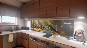 The Kitchen Whirlpoolar Interactive Kitchen Of The Future Youtube