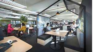 Open Concept Office Design Classy Dawn Of The 'agile Office' Frees Staff To Work And Play Where They