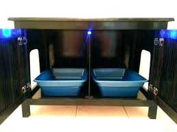 concealed litter box furniture. Furniture Cat Litter Box Ottoman Hidden Storage . Concealed