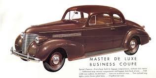 1939 Chevrolet Brochure Photo Picture