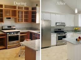 Cabinet refacing before and after Cabinet Refinishing Afraid Youre Not Candidate For Refacing Because You Want Taller Cabinets No Problem We Can Reface Your Cabinets And Increase The Height Vuexmo Kitchen Cabinet Refacing Cabinet Resurfacing