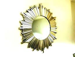 silver sunburst mirror sunburst wall mirror wood sunburst mirror extra large silver leaf sunburst starburst wall