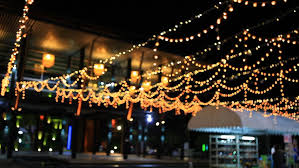 Roof Decoration With Flashing Lights, Blinkers, Party, Happy New ...