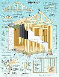 cubby house plans pdf inspirational colonial backyard garden shed