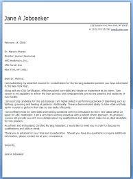 Resume Cover Letter Lpn For Nurses New Nurse Grad Nursing Letters