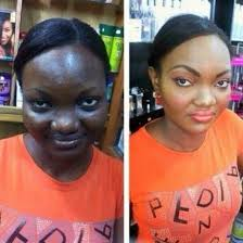 black makeup before and after google search