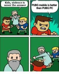 Pubg Mobile Vs Pc Meme