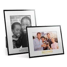 white on black cardboard photo frame