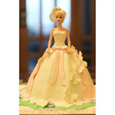 Send Barbie Doll Cake Gift Online To Pakistan