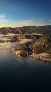 Big Sur 4K Wallpaper, Mountains, Clouds ...