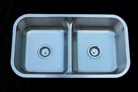 As128 32 X 18 X 88 18g Double Bowl Undermount Trend Stainless