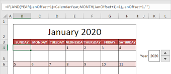Editable 2015 2020 Calendar Calendar Template In Excel Easy Excel Tutorial