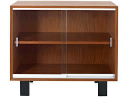 small cabinets with doors impressive furniture brown wooden mid century cabinet with sliding glass pertaining to