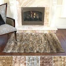 faux sheepskin rugs aurora home wild mannered luxury long fur rug pink australia