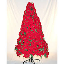 Artificial Christmas Poinsettia Artificial Poinsettia Tree Home Design