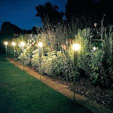 Fantastic Solar Landscape Lights Modern Solar Landscape Lighting