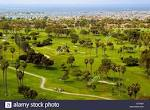 The verdant championship golf course at Newport Beach Country Club ...