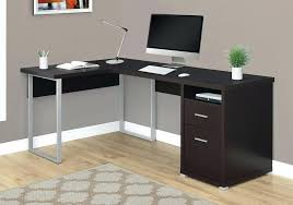 corner office table. Captivating Corner Office Desk Versatile Cappuccino W  Drawers Ikea . Table