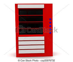 3d Vending Machine Stunning 48d Vending Machine Concept In White Isolated Background 48d