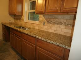 Tan Brown Granite Countertops Kitchen Cool Backsplash Ideas For Tan Brown Granite Countertops Kitchen