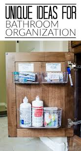 Under Kitchen Sink Storage 17 Best Ideas About Bathroom Vanity Organization On Pinterest
