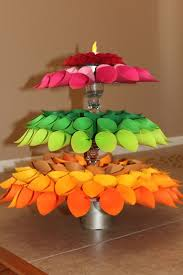 beautiful paper decoration idea for diwali